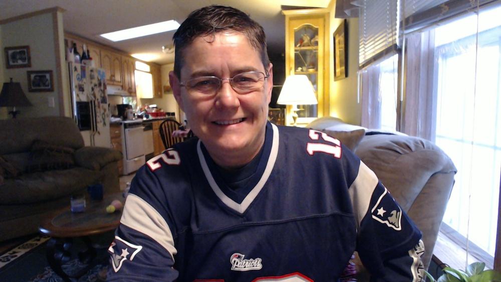 One Happy Patriots Fan!