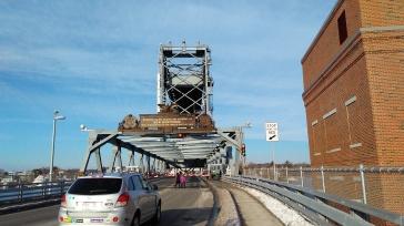 Memorial Bridge up position